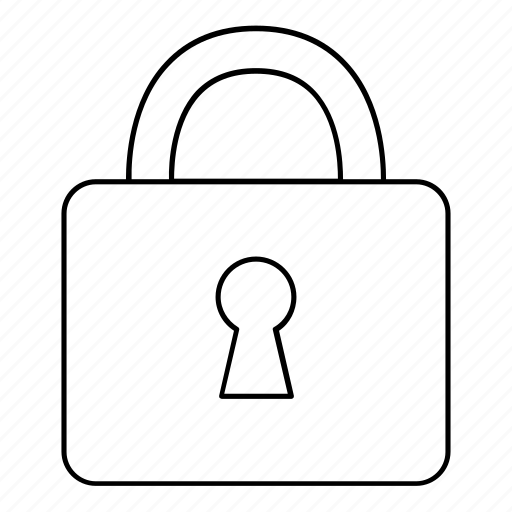 lock, locked, padlock, password, protected, security icon