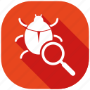 bug, fixing, protection, safety, secure, security, server icon