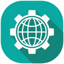 internet, protection, safety, secure, security, server, settings icon