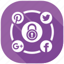 media, protection, safety, secure, security, server, social icon