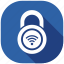 protection, safety, secure, security, server, shield, wifi icon