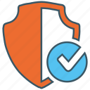 encryption, firewall, guard, security, server, shield icon