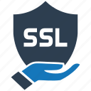 certificate, encryption, firewall, guard, shield, ssl icon
