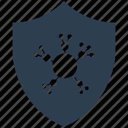 community, encryption, firewall, guard, secure, shield icon