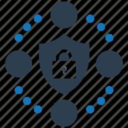 encryption, firewall, guard, media, secure, shield, social icon