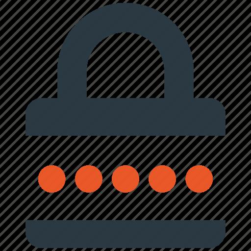 encryption, firewall, guard, lock, password, shield icon