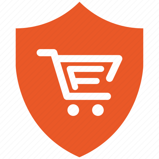 encryption, firewall, guard, security, shield, shopping icon