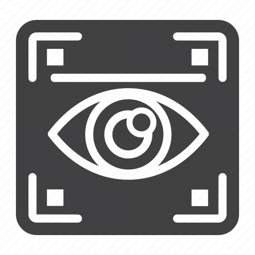Biometric, eye, iris, recognition, scan, scanner, security icon - Download on Iconfinder
