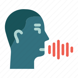 audio, control, recognition, security, spectrum, speech, voice icon