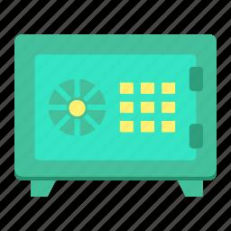 bank, deposit, password, safe, security, storage, strongbox icon