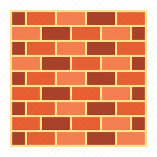 brick, build, construction, security, stone, texture, wall icon
