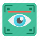 iris, eye, scanner, scan, security, recognition, biometric