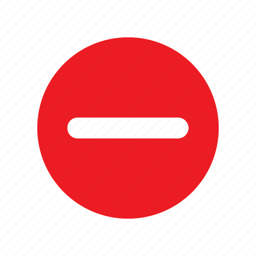 area, forbidden, stop icon