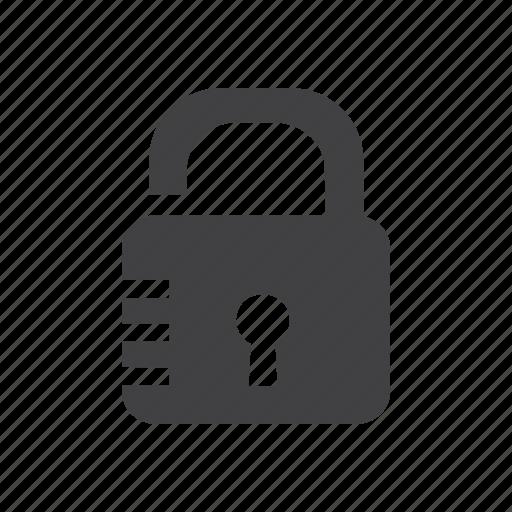 lock, protection, save, unlocked icon