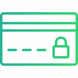antivirus, blocked, card, card protection, credit card, locked, security icon