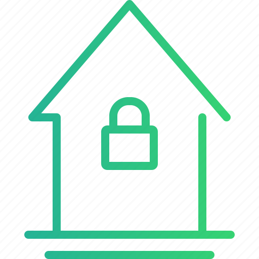 home, home security, house, house protection, protection, security, smart home icon