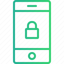 antivirus, device, lock, mobile, mobile protection, protection, security icon