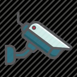 attention, camera, cctv, private, security, surveillance, video icon