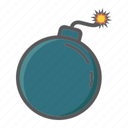 bomb, boom, danger, dynamite, explode, security, spark icon