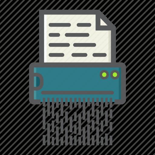 Confidential, destroy, document, file, secret, security, shredder icon - Download on Iconfinder