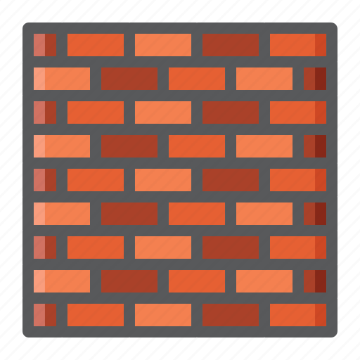Brick, build, construction, security, stone, texture, wall icon - Download on Iconfinder