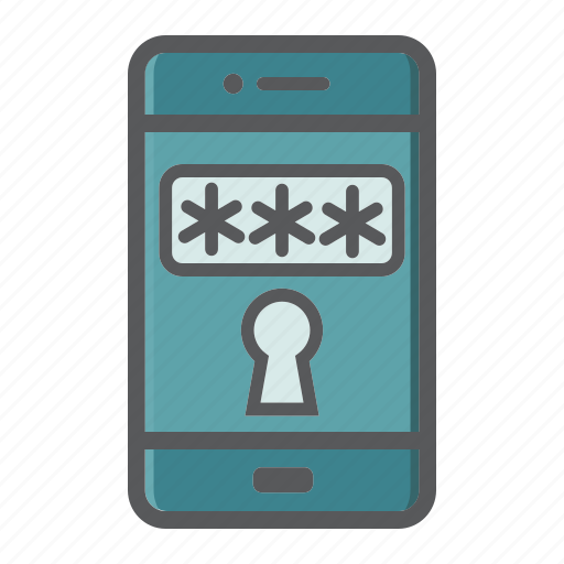 app, application, key, mobile, safe, security, smartphone icon