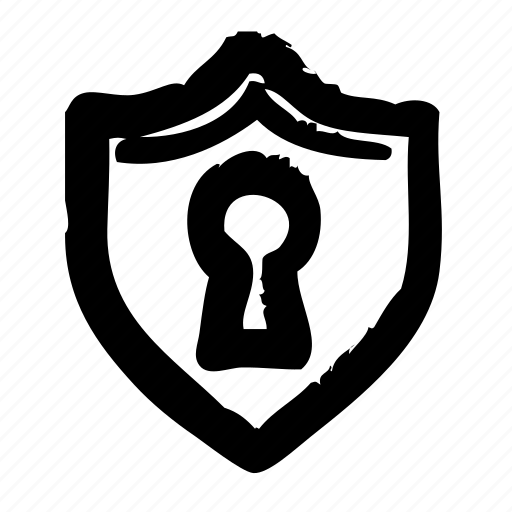 key, lock, protect, safety, security, shield icon