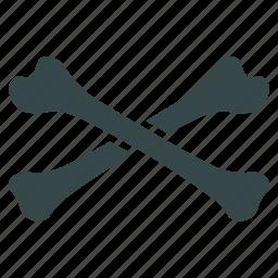 cross bones, crossbones, danger, death, skeleton, skull, warning icon