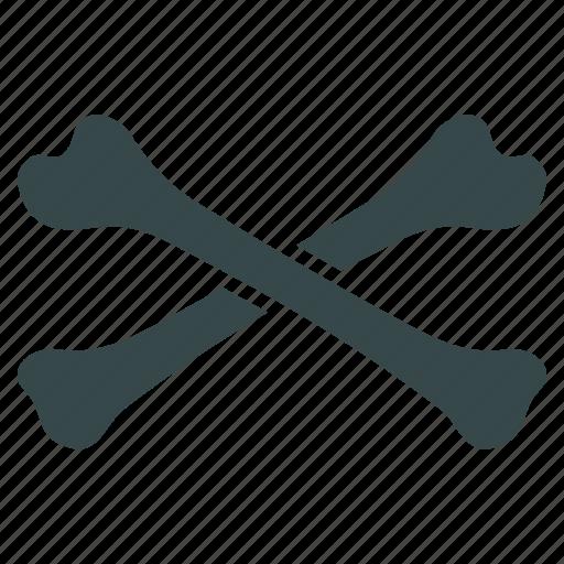 Cross bones, crossbones, danger, death, skeleton, skull, warning icon - Download on Iconfinder