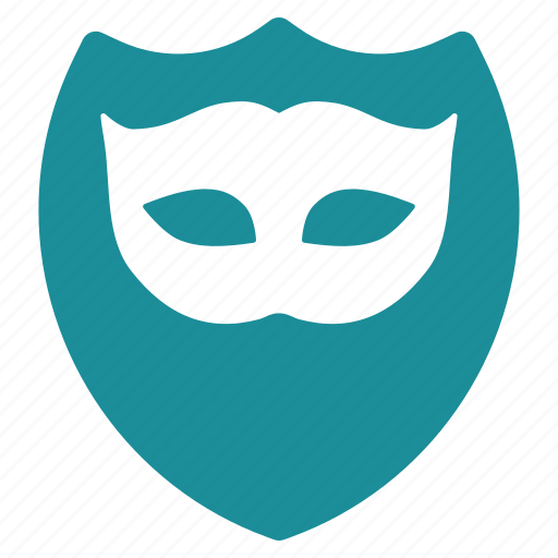 guard, mask, masked, protect, protection, security, shield icon