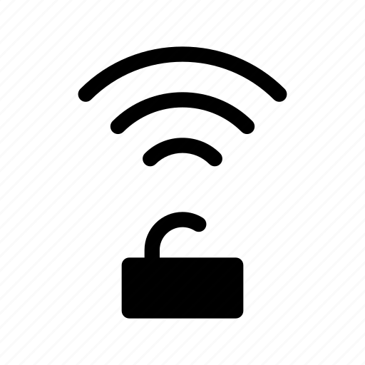 protect, protection, secure, unlock, wifi icon