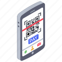 barcode scanner, mobile qr, qr app, qr code, qr scanner, scan and pay icon