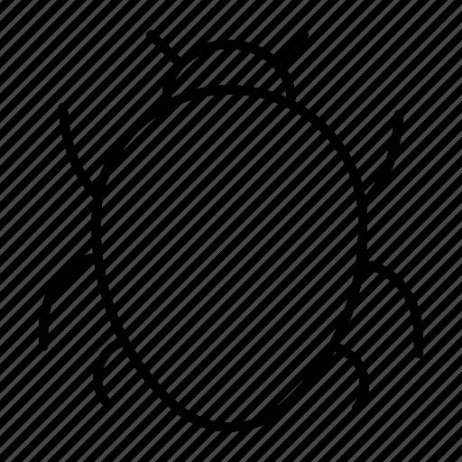 bug, insect, ladybug, virus icon