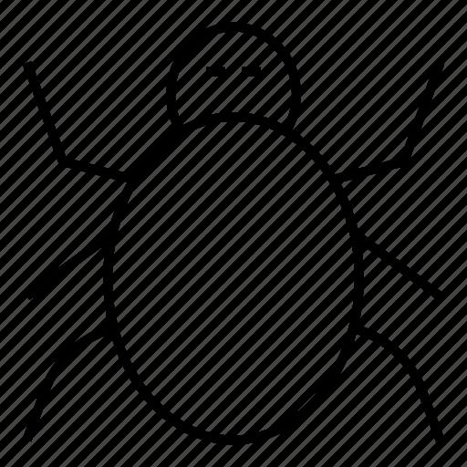 Bug, insect, ladybug, virus icon - Download on Iconfinder