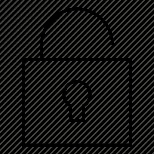 safety, security, unlock, unlocked icon