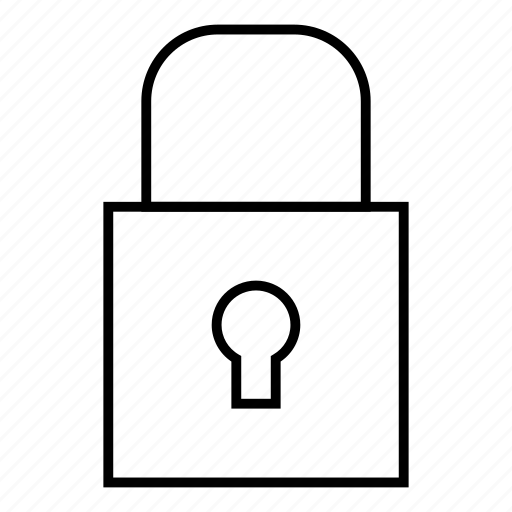 lock, private, protect, security icon
