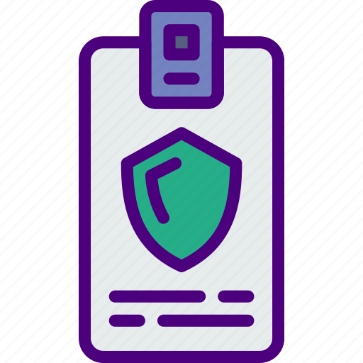 badge, business, police, secure, security icon