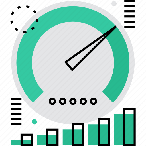 dashboard, device, limit, measure, measurement, rate, speed icon