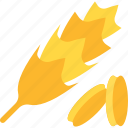 food, groats, seeds, wheat icon