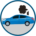 auto insurance, caidas, car insurance, objetos, seguro, car accident, catastrophe, damage icon
