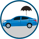 auto insurance, car accident, car damage, car insurance, car protection, seguro, seguro de autos, weather icon