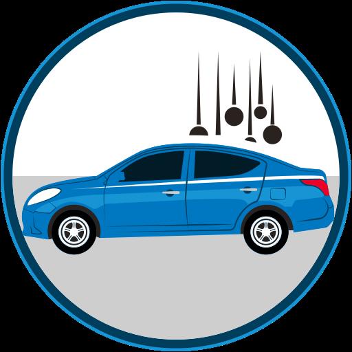 auto insurance, car insurance, catastrophe, inclemencias, seguro, seguro de autos icon
