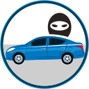 auto insurance, car insurance, seguro de autos, stolen car, stolen vehicles icon