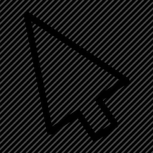 arrow, computer mouse, cursor, interface, mouse, point, pointer icon