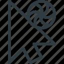arrow, busy, cursor, mouse, pointer
