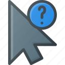 arrow, cursor, info, mouse, pointer icon
