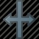 cursor, horizontal, mouse, move, pointer, scale