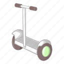 battery, electric, power, segway icon