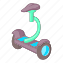 electric, scooter, segway, self-balancing icon