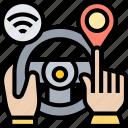 interface, navigation, machine, human, driving